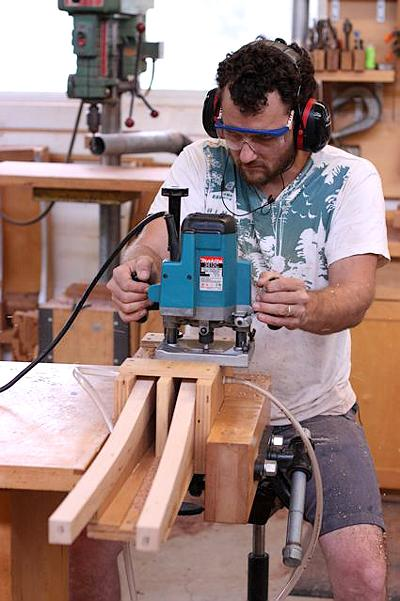 Will notching chair legs