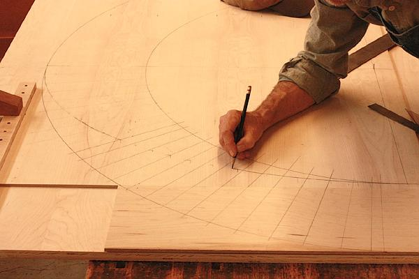 Completing drawing the ellipse