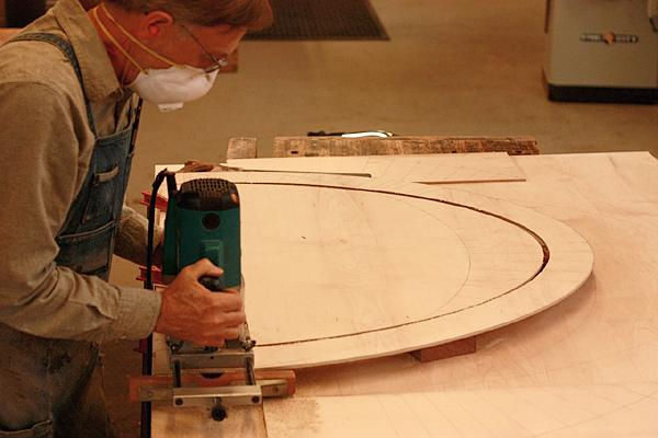 Cutting the ellipse