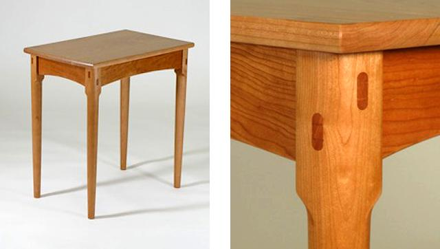 Otwell Side Table tenons