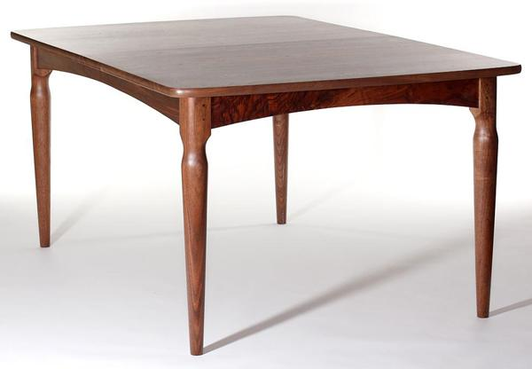 Paschall Leg-at-Corner Table by Gary Weeks