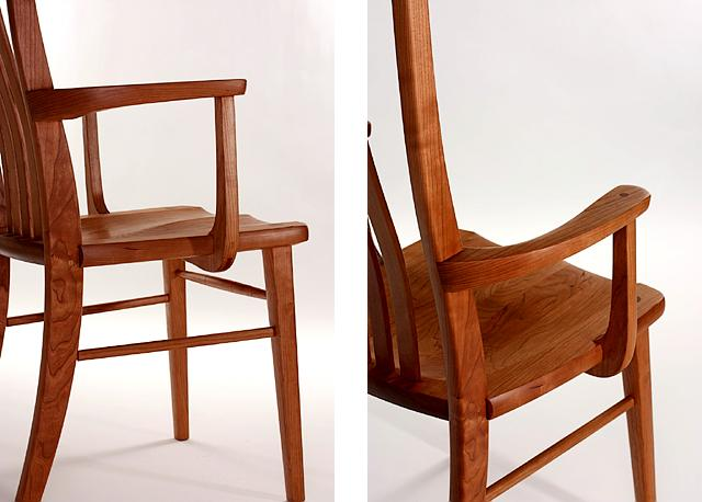 Dining arm chairs & Arms for Dining Chairs | Gary Weeks u0026 Company Furnituremakers