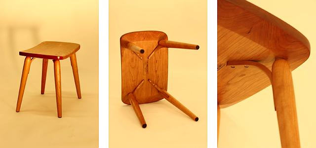 Cello stool finished