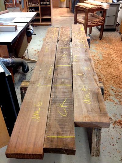 lumber layout