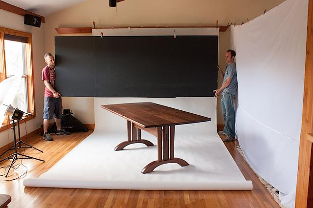Photographing furniture - final