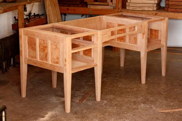 desk assembled