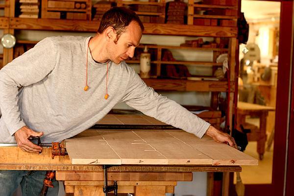 wooden vanity plans