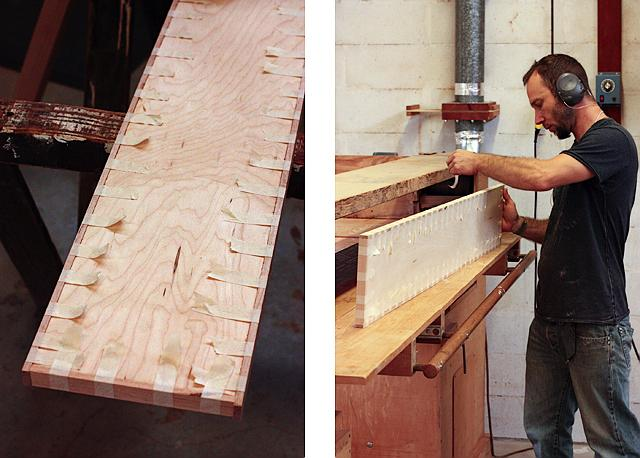 Edge banding plywood