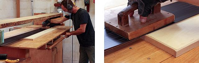 sanding level with stroke sander