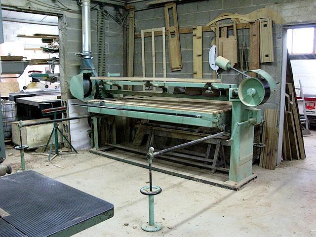Shop machinery