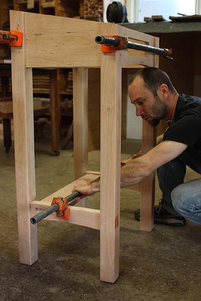 assembling a standup desk 10