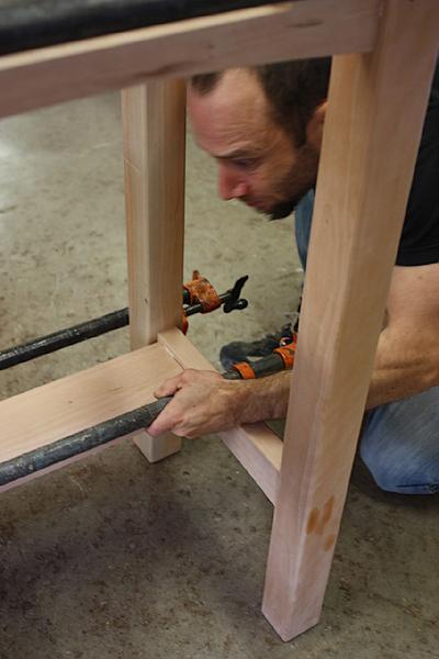 assembling a standup desk 11