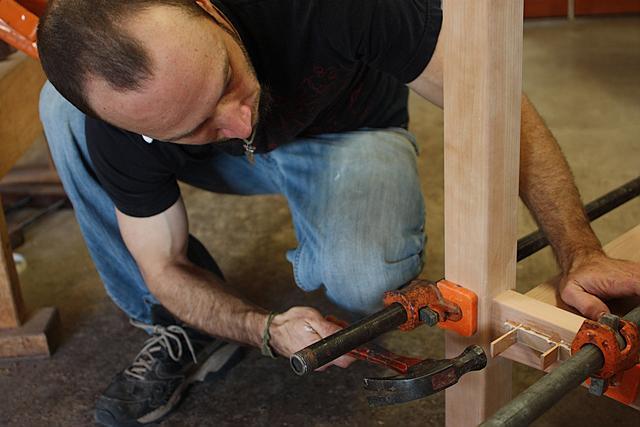 assembling a standup desk 13