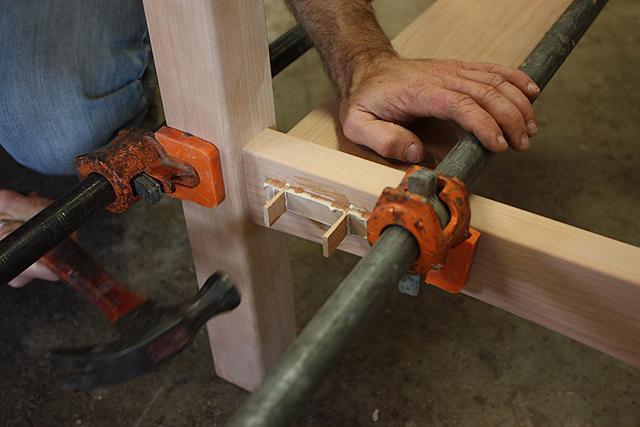 assembling a standup desk 14