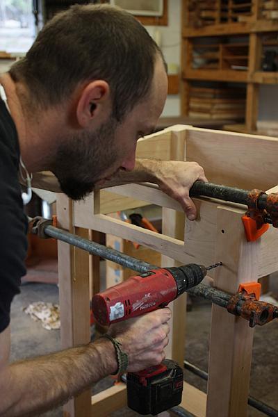 assembling a standup desk 15