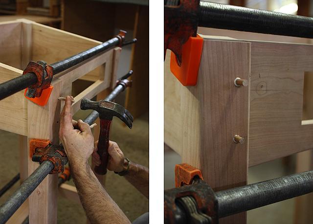assembling a standup desk 16