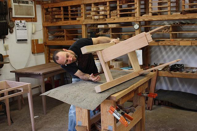 assembling a standup desk 3