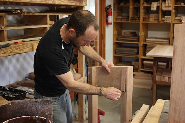 assembling a standup desk 5