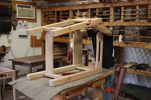 assembling a standup desk 6