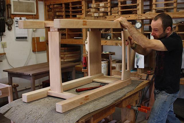 assembling a standup desk 7