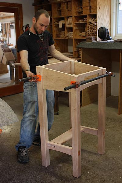assembling a standup desk 9