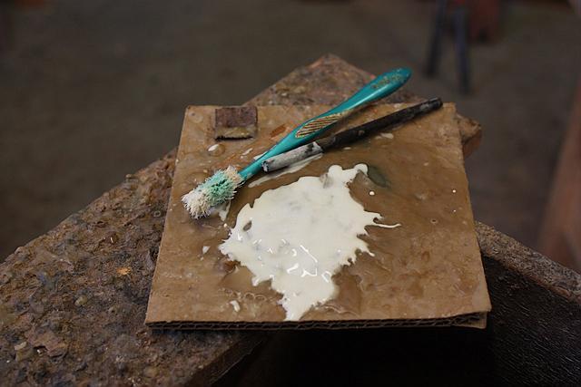 glue up a desk