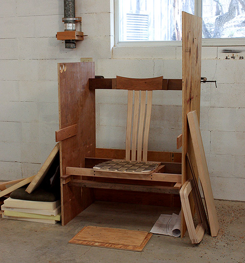 Chair Fitting Booth