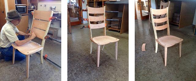Ladderback chair designs