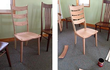 Ladderback chair designs 2